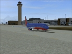 Southwest 737 Taxiing