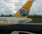 Thomas Cook on Runway