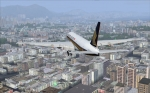 Kai Tak Approach 777 SQ