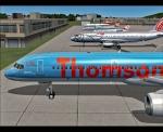 Thomson at ramp