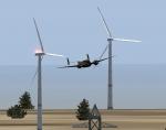 Russian Roulette through Wind Farm