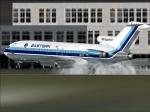 GA727 landing