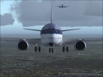 737-400 landing on Orly Airport