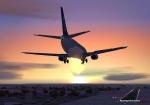 737 into Christchurch
