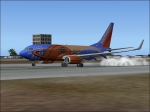 737 L.A. aproach
