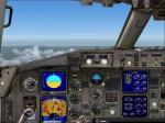 B757-200 virtual cockpit