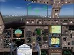 B767-300 Cockpit View