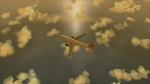 BA 777-200 cruising