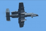 A-10 Thunderbolt ventral view