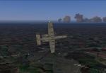 A-10 Thunderbolt over Lyneham AB