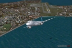 Airbus A320 Climbing Out of Wellington NZ