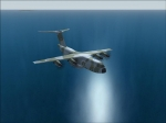 Airbus A400M over Sea