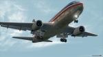 American 767 fuselage