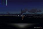 Airbus 321 landing KLGA