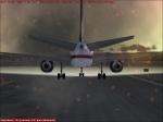 757 Explosion on Rotation
