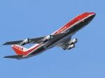 Avianca 747 Mirror Tail