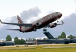 Air Berlin 737 Taking Off