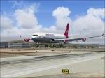Landing at KLAX