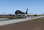 747 landing at AKL