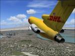 B727 Astar Air Cargo over Miami