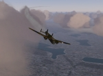 Wartime Bomber looking for airport