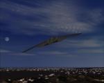 B-2 Bomber Climbing