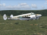 Beechcraft Twin-Prop in flight