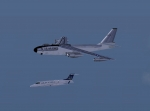 USAF Aircraft and Learjet 45