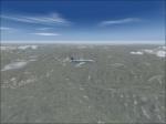 Transload B737-200 in flight