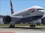 BA777 Landing