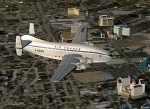 Old Air France Bird over Las Vegas