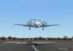Beech 1900D landing at Napier