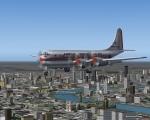 Boeing Stratocruiser over London