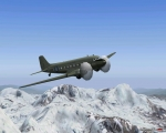 C-47 over the Himalayas