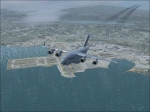 C17 Air Force climbing