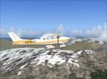 C206 Cessna over Alaska