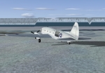 Aircraft on North Pole