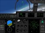 C130 Hercules cockpit view