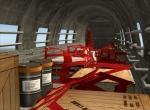 Howard 500 cargo area