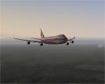 Cargolux 747 Cruising