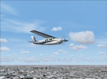 Cessna P-210 Turbo over Midway