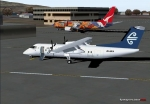 Dash 8 and 737 at Wellington