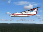 Canada FS2004 Dehavilland Dash8-202 in Flight