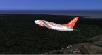B734 departing Phuket