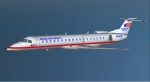 ERJ145 in cruise