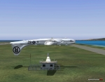 B-29 over the VOR