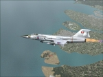F-104 on patrol over Vancouver