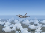 F-16 flies so high!