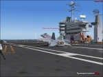 F-18 Landing on carrier
