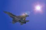 F16 Out of the sun
